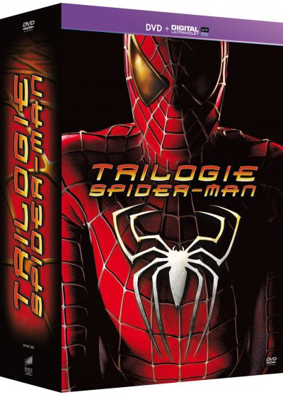 Trilogie Spider-Man - Origins Collection : Spider-Man 1 + Spider-Man 2 + Spider-Man 3 (DVD + Copie digitale) - DVD