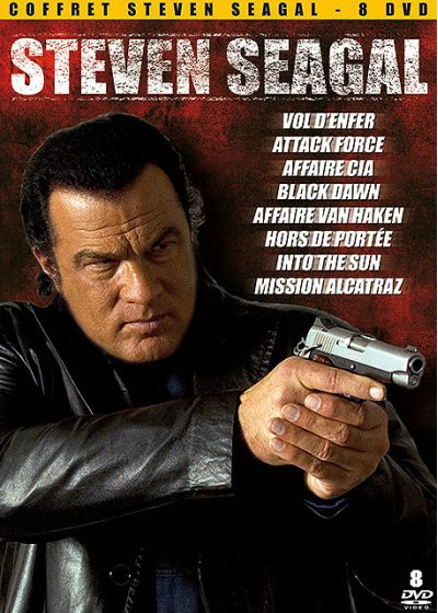 Coffret Steven Seagal - 8 DVD - DVD