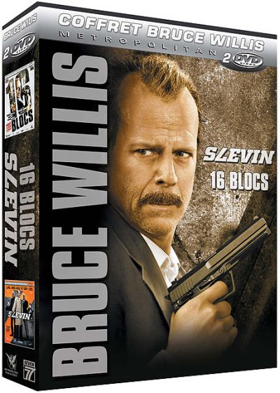 Coffret Bruce Willis : Slevin + 16 Blocs (Pack) - DVD