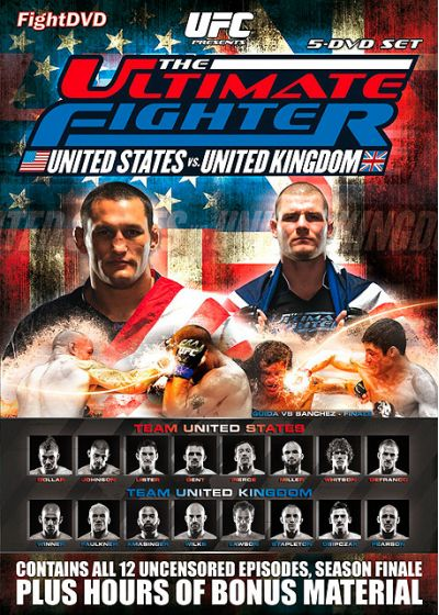 UFC : United States vs United Kingdom - DVD