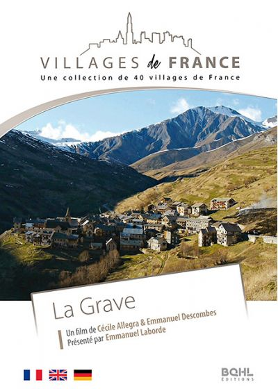 Villages de France volume 27 : La Grave - DVD