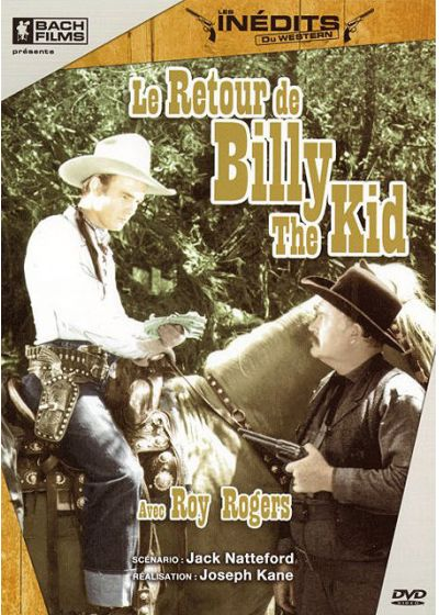 Le Retour de Billy the Kid - DVD
