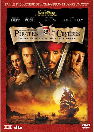 Pirates des Caraïbes - La malédiction du Black Pearl - DVD