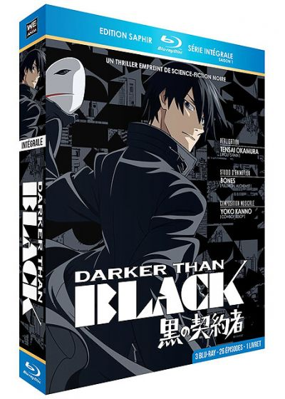Darker Than BLACK - L'intégrale (Édition Saphir) - Blu-ray