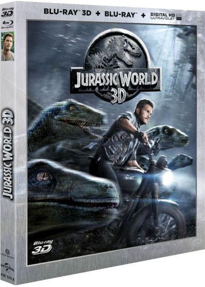 Jurassic World (Blu-ray 3D & 2D + Copie digitale) - Blu-ray 3D