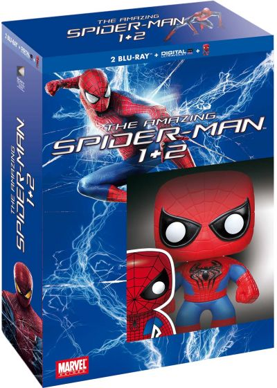 Amazing Spider-Man Legacy : The Amazing Spider-Man + The Amazing Spider-Man : Le destin d'un héros (+ figurine Pop! (Funko)) - Blu-ray