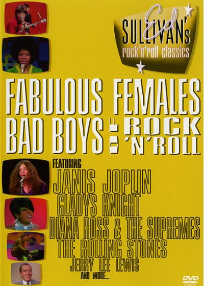 Ed Sullivan's Rock'n'Roll Classics - Fabulous Females / Bad Boys of Rock'n'Roll - DVD