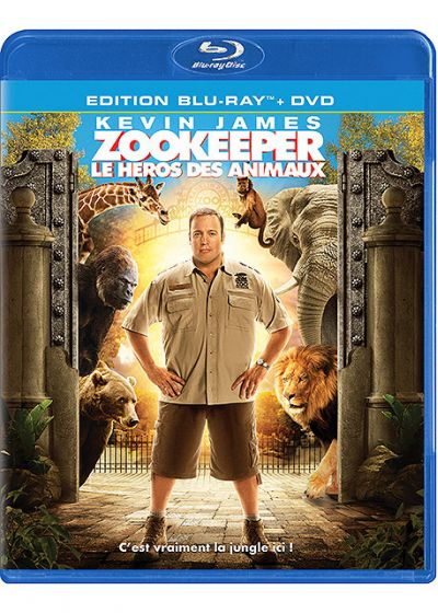 Zookeeper, le héros des animaux (Blu-ray Hybrid (film/jeu) + DVD) - Blu-ray