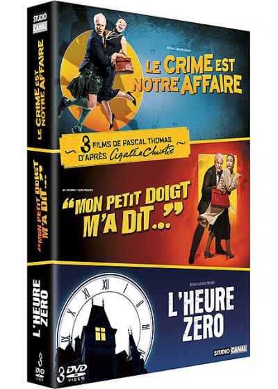 3 films de Pascal Thomas d'après Agatha Christie - Coffret (Pack) - DVD