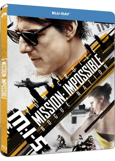M:I-5 - Mission : Impossible - Rogue Nation (Édition SteelBook) - Blu-ray