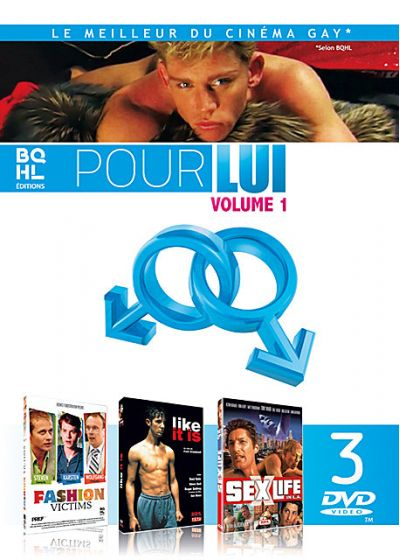 Pour lui volume 1 : Fashion Victims + Like It Is + Sex/Life In L.A. - DVD