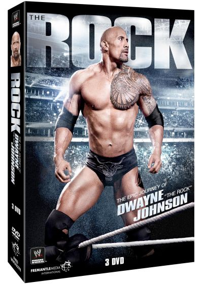 The Rock : The Epic Journey of Dwayne Johnson - DVD