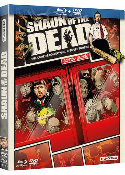 Shaun of the Dead (Édition Comic Book - Blu-ray + DVD) - Blu-ray