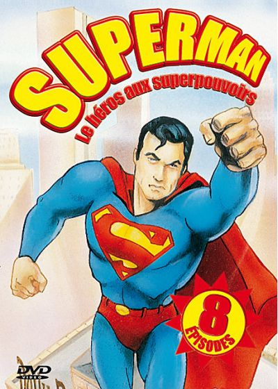 Superman - Le héros aux superpouvoirs - DVD