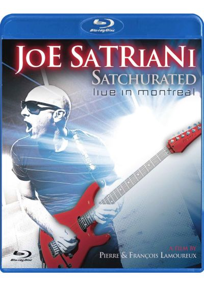 Joe Satriani : Satchurated Live in Montreal (Blu-ray 3D + 2D) - Blu-ray 3D