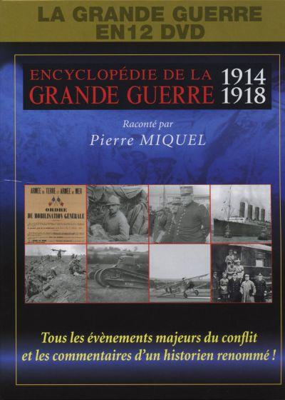 Encyclopedie de la Grande Guerre 1914-1918 (Pack) - DVD