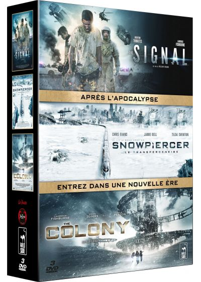 The Signal + Snowpiercer + The Colony (Pack) - DVD