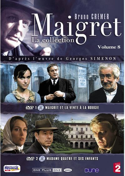 Maigret - La collection - Vol. 8 - DVD