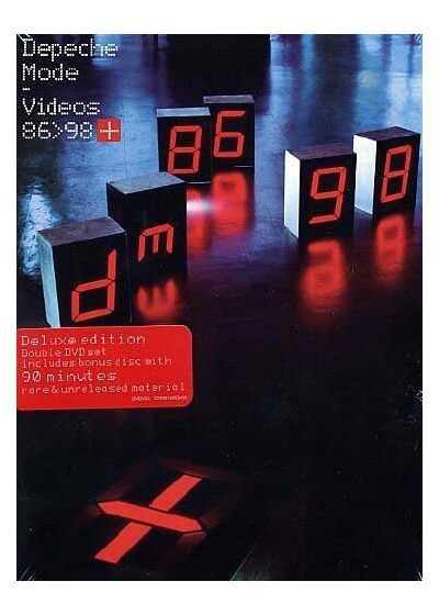 Depeche Mode - The Videos 86>98+ - DVD