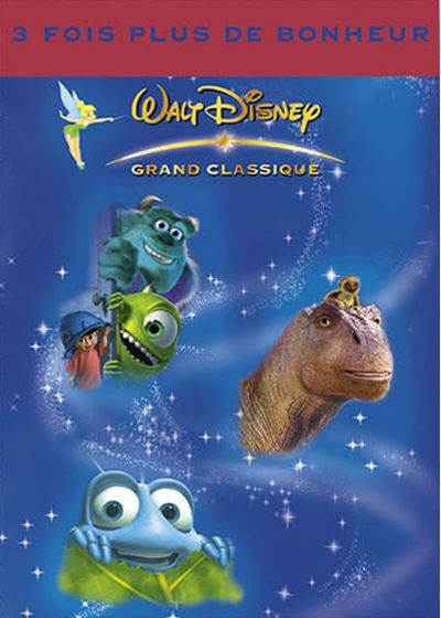 Monstres & Cie + Dinosaure + 1001 pattes - DVD
