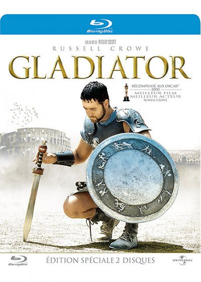 dvdfr gladiator dition sp ciale bo tier steelbook blu ray. Black Bedroom Furniture Sets. Home Design Ideas
