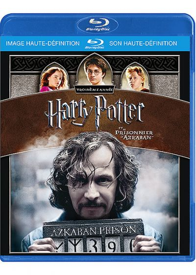 Harry Potter et le prisonnier d'Azkaban - Blu-ray