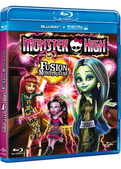 Monster High : Fusion monstrueuse (Blu-ray + Copie digitale) - Blu-ray
