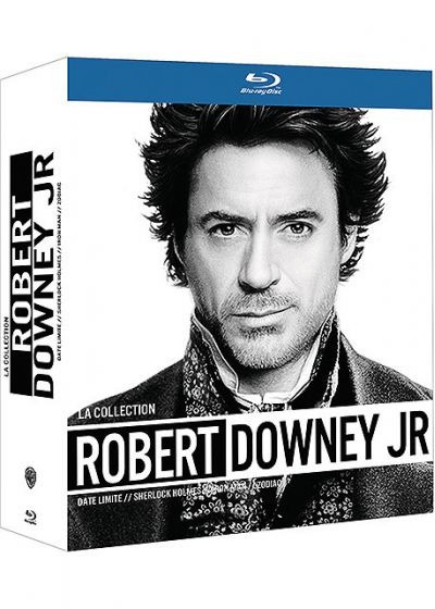 La Collection Robert Downey Jr. - Date limite + Sherlock Holmes + Iron Man + Zodiac - Blu-ray