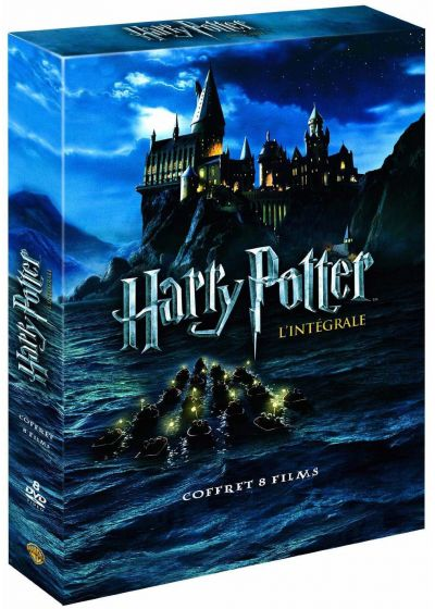 dvdfr harry potter l 39 int grale des 8 films dvd. Black Bedroom Furniture Sets. Home Design Ideas