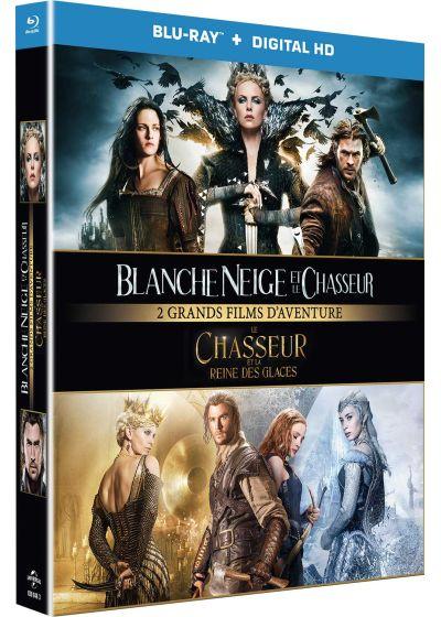 Dvdfr Blanche Neige Et Le Chasseur Le Chasseur Et La Reine Des Glaces Blu Ray Copie Digitale Blu Ray