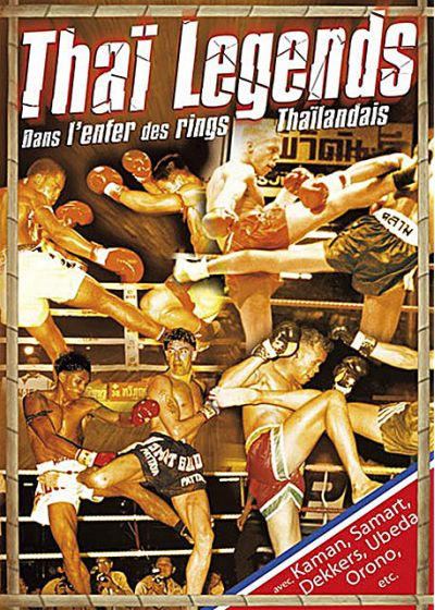 Thai Legends : Dans l'enfer des rings thaïlandais - DVD