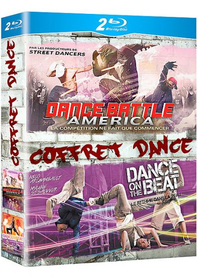 Dance : Dance Battle America + Dance on the Beat (Pack) - Blu-ray