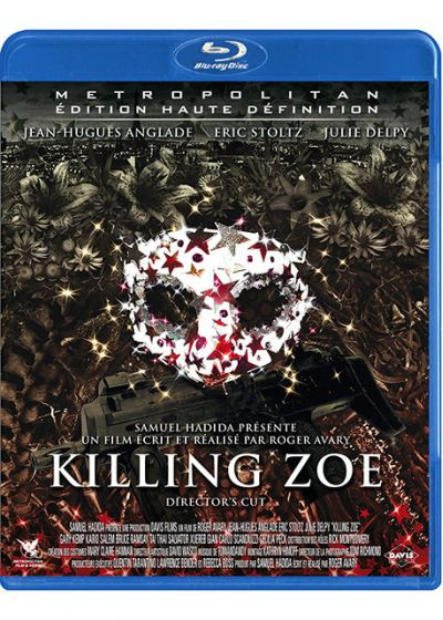 Killing Zoe (Director's Cut) - Blu-ray