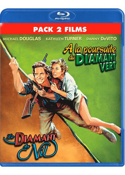 A la poursuite du Diamant Vert + Le diamant du Nil (Pack 2 films) - Blu-ray