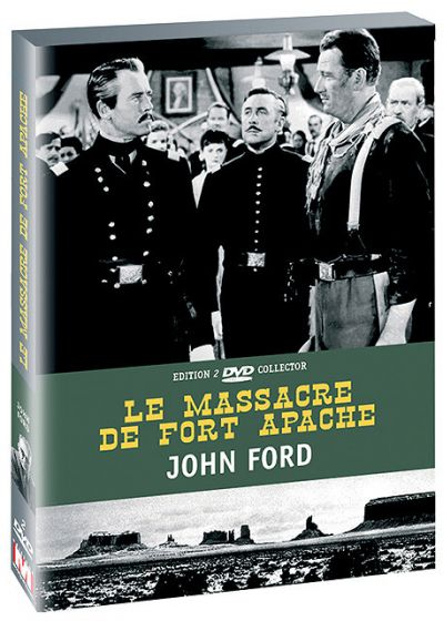 Le Massacre de Fort Apache (Édition Collector) - DVD