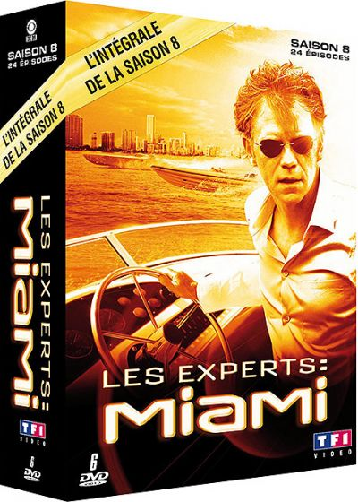 Les Experts : Miami - Saison 8 - DVD