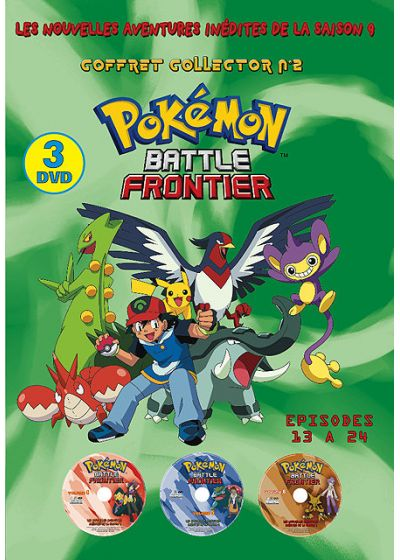 Pokemon Battle Frontier - Saison 9 n°2 (Édition Collector) - DVD