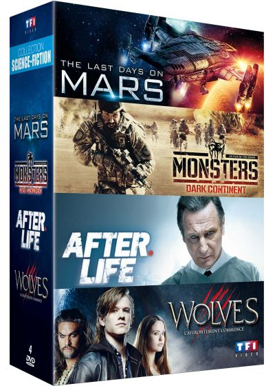 Collection Science-fiction : The Last Days on Mars + Monsters Dark Continent + After Life + Wolves (Pack) - DVD