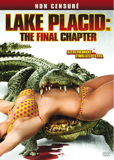 Lake Placid: The Final Chapter (Non censuré) - DVD