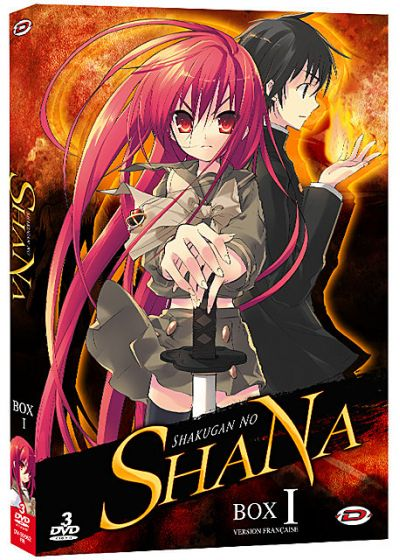 Shakugan no Shana - Box 1/2 (Édition VF) - DVD
