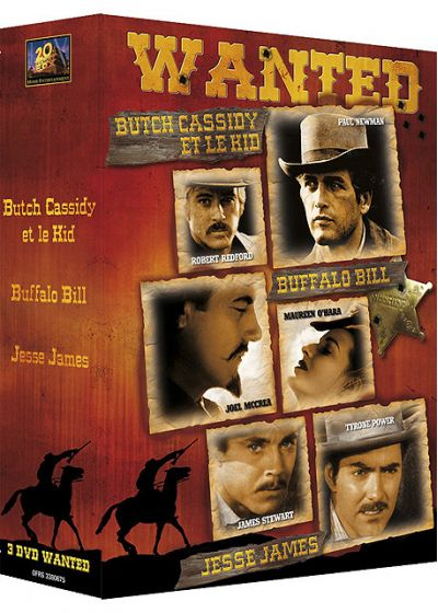 Butch Cassidy et le Kid + Jesse James + Buffalo Bill (Pack) - DVD