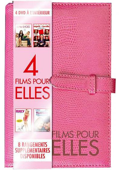 4 films pour elles : Notebook Rose 4 DVD (Pack) - DVD