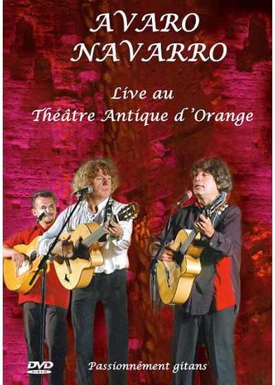 Avaro Navarro - Live au Théâtre Antique d'Orange - DVD