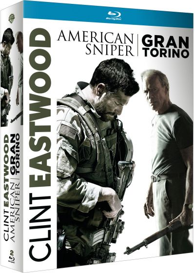 Clint Eastwood : American Sniper + Gran Torino (Blu-ray + Copie digitale) - Blu-ray
