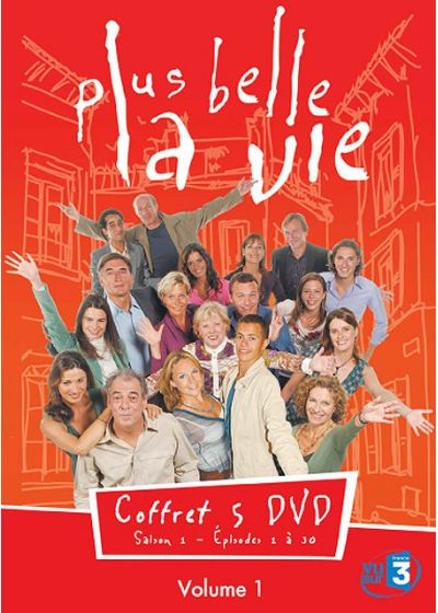 Plus belle la vie - Volume 1 - DVD
