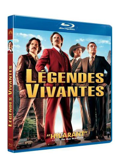 Légendes vivantes (Anchorman 2 : la légende continue) - DVD