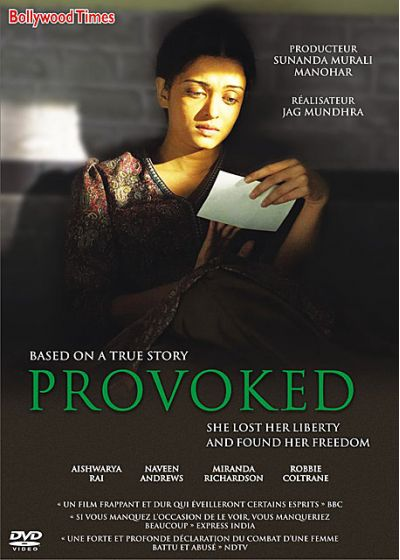 Provoked - DVD