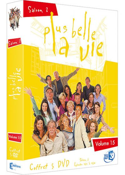 Plus belle la vie - Volume 15 - Saison 2 - DVD