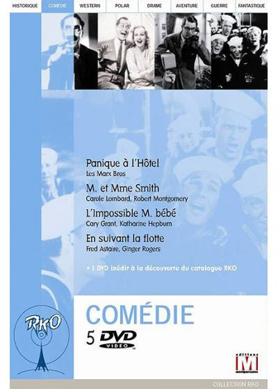 Collection RKO : Coffret Comédie - DVD