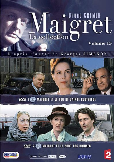 Maigret - La collection - Vol. 15 - DVD